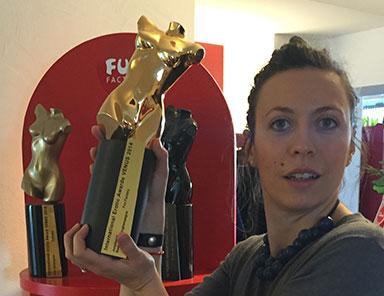 Venus Award vinto nel 2014 da Fun Factory