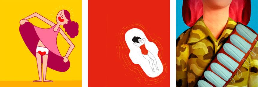 mestruazioni milano illustrazioni