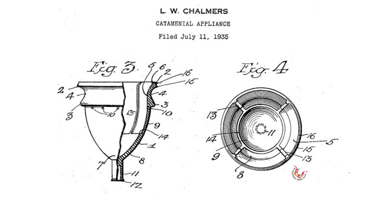 1937: Nasce la prima coppetta mestruale moderna