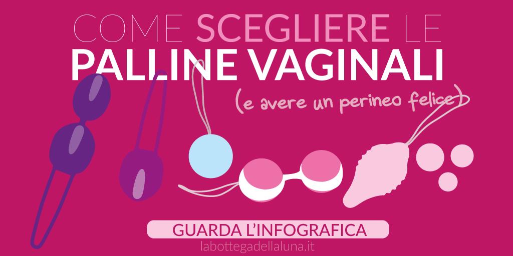 Palline vaginali Infografica: come sceglierle (per un perineo felice)