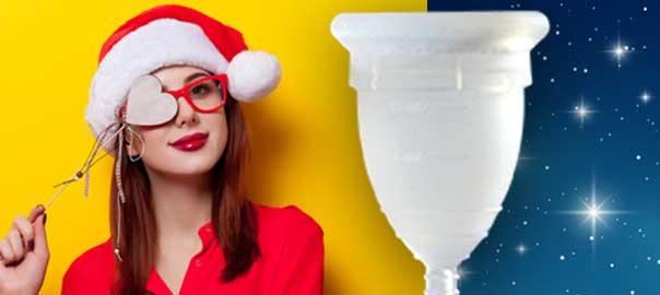 5 motivi per cui la Coppetta Mestruale vi serve a Natale