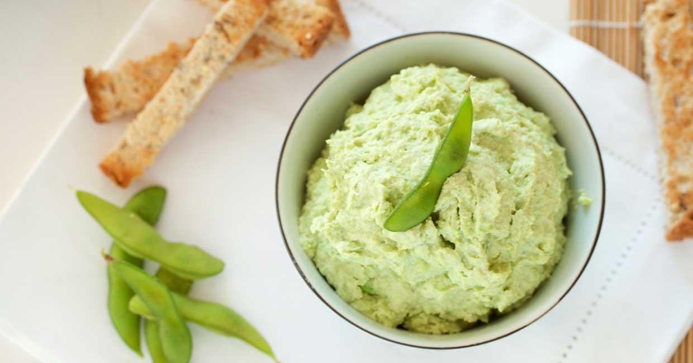 Hummus edamame soia ciclo menopausa