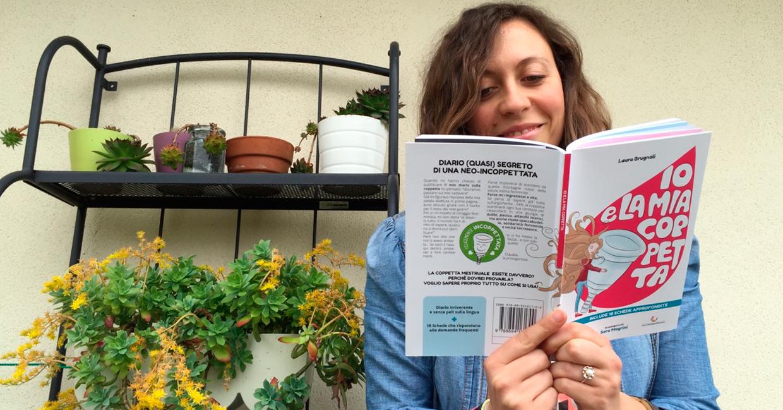 È arrivato il primo libro sulla coppetta mestruale