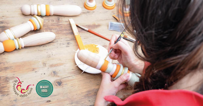 Sex toys in legno Wacky Vibes Silvia Picari