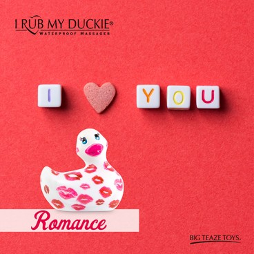 I rub my Duckie 2.0 | romance (white & pink)  Big Teaze Toys
