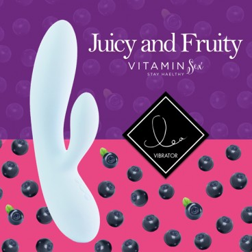 Lea rabbit vibrator blueberry  Feelztoys
