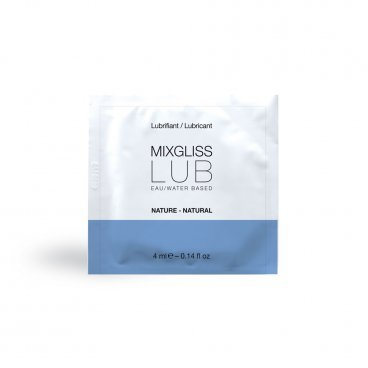 Mixgliss Lubrificante Lub Nature - Acqua 4 Ml.