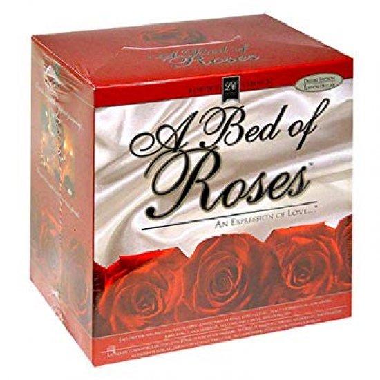 Lover's Choise Letto Di Rose Set Invito Massaggi
