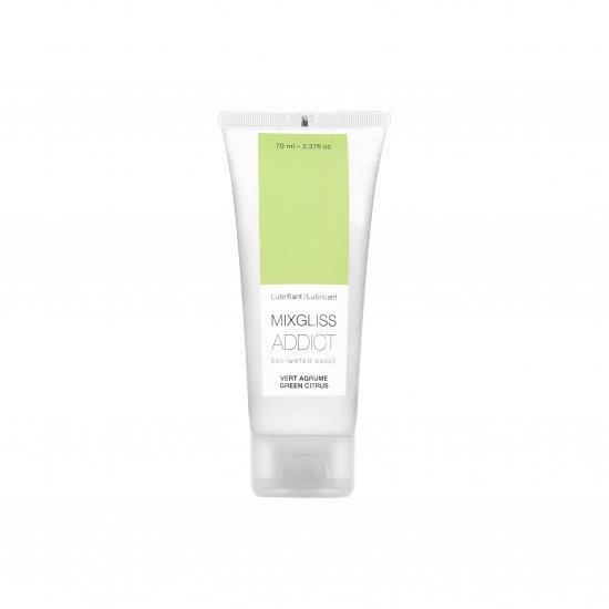 Lubrificante Acqua al Limone Verde ADDICT Mixgliss 70 ML