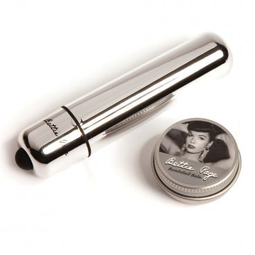 Bettie Page  Buzzin' Bullet Vibrator And Orgasm Balm Set