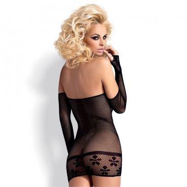 Dress D600 Noir S/m/l Obsessive
