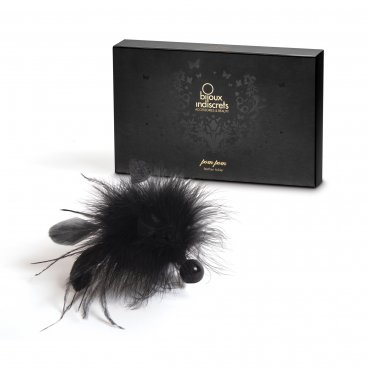 Bijoux Indiscrets - Pom Pom  Feather Tickler - Piumino per accarezzare