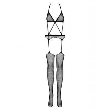 Bodystocking N108 Nera S/m/l Obsessive