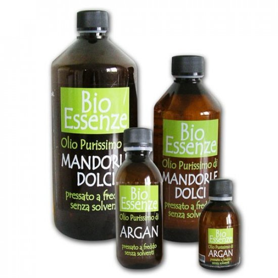 BIOESSENZE - OLI EUDERMICI - OLIO DI MANDORLE DOLCI PURO - 500 ml
