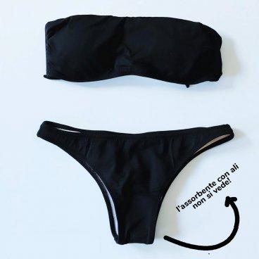 Costume Mestruale Modello Mini Il Bikini Che Nasconde Le Ali Di Bikiniflying