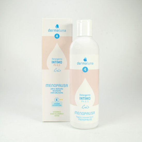 Dermaluna 4 - Detergente Intimo Ultra-delicato / Menopausa Bio - 250 Ml