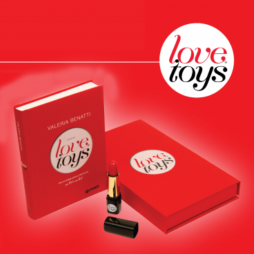 Valeria Benatti - LOVE TOYS Libro + gadget vibrante