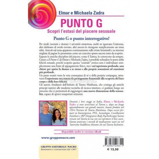 Il Punto G. La Ricerca Iniziatica Del Piacere Sessuale Macro Edizioni Libro