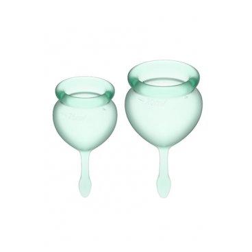 Satisfyer Cup Good green coppetta mestruale