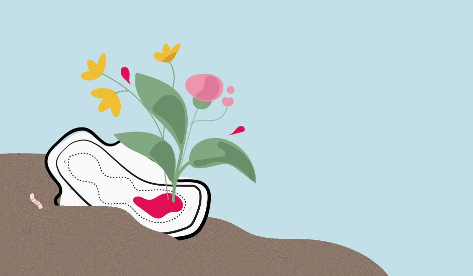 Assorbenti compostabili ecologici